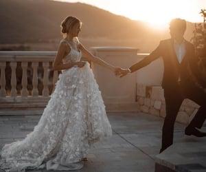bride, couple, and elegant image