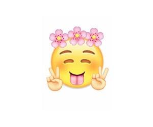 pink, cute, and emoji image