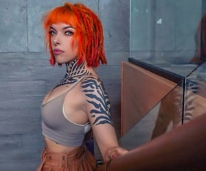 orange hair and victoria x rave image