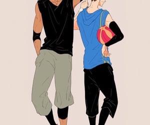 anime, kasamatsu, and handsome image