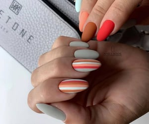 manicure, nails, and nail image