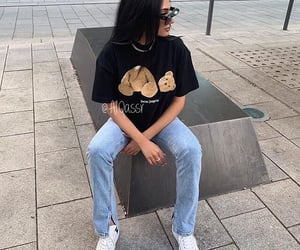 tee-shirts, alexander mcqueen shoes, and ootd fashion style image