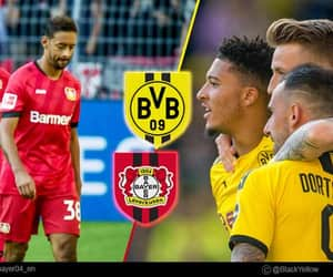 football, borussia dortmund, and bayer leverkusen image