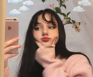 aesthetic, girl, and icon image