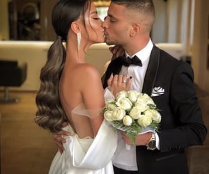 couple, kiss, and partner image
