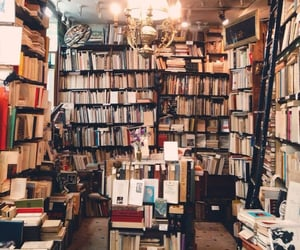 aesthetic, books, and bookstore image