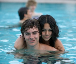 zac efron, vanessa hudgens, and couple image