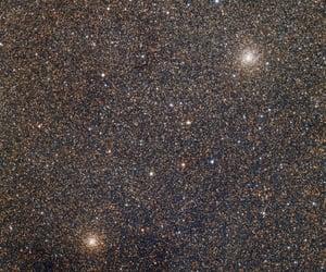 stars, galaxy, and glitter image