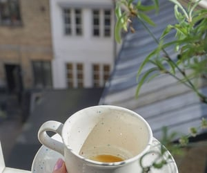 architecture, tea, and coffee image