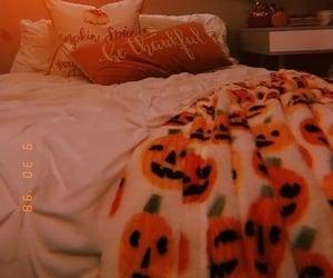 bedroom, Halloween, and autumn image