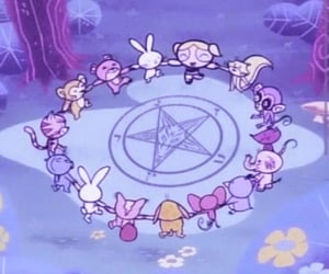 gif, cartoon, and satan image