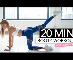 booty, fitness, and video image