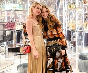 amanda seyfried, fendi, and emma roberts image