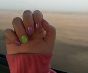 glitter, green, and purple image