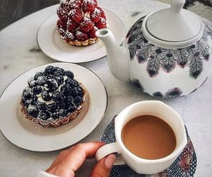 food, pretty, and tea image