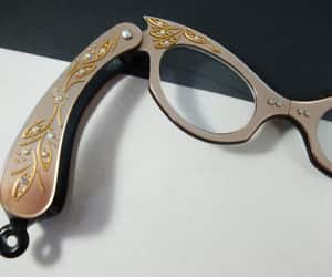 etsy, rhinestone glasses, and lorgnette opera image