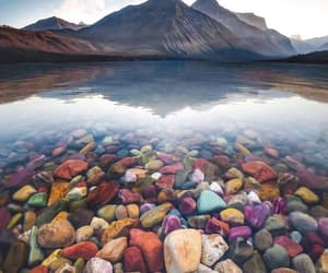 montana, travel, and lake mcdonald image