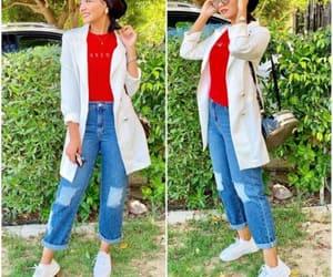 blazer, classy, and hijab image