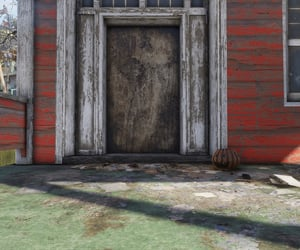 abandoned, door, and house image