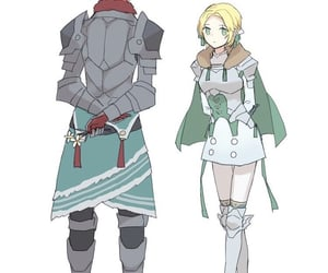 blue lions and fire emblem three houses image