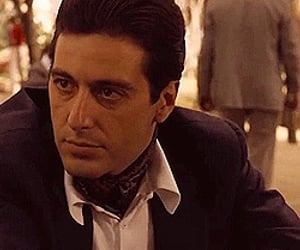 70s, godfather, and The Godfather image