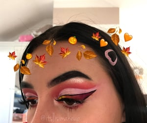 autumn, red, and love image