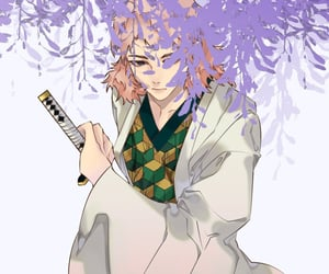anime, drawing, and sabito image