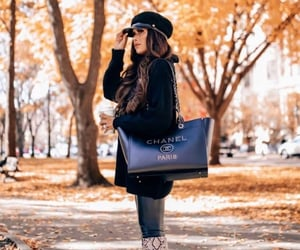 boots, chanel, and fall image