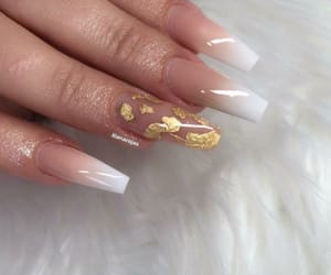 beautiful, manicure, and nail art image