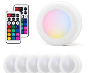led, wireless, and colour changing image
