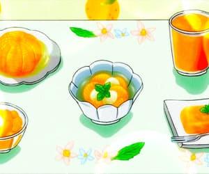 anime, lemon, and food gif image