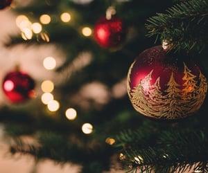 beautiful, lights, and christmas image