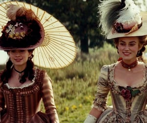 keira knightley, hayley atwell, and the duchess image