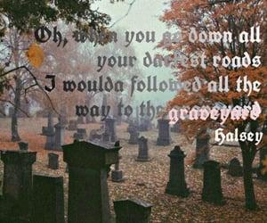 graveyard, manic, and Lyrics image