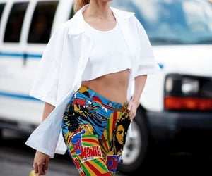 fashion, street style, and beauty blonde image