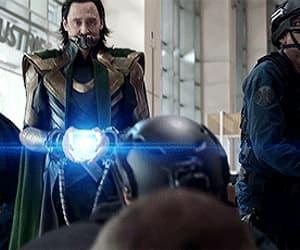gif, Marvel, and loki image