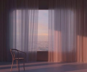 aesthetic, ocean, and room image