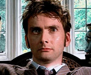 david tennant, the doctor, and doctor who image