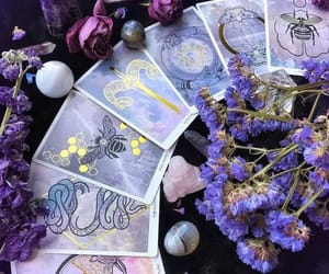 witch, magic, and crystals image