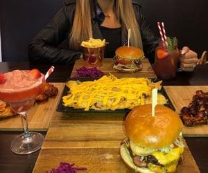 burger, cheeseburger, and fries image