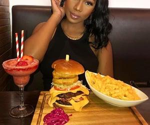 burger, cheeseburger, and foody image