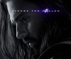 bucky, Marvel, and sebastian stan image