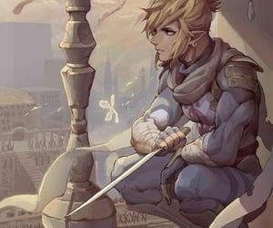 link, the legend of zelda, and videogame image
