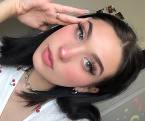 aesthetic, model, and girl image