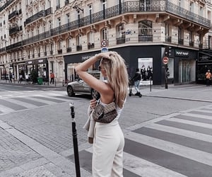 city, girl, and outfit image