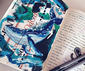 draw, whale, and journaling image