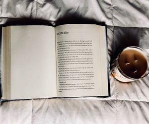book, candle, and lifestyle image
