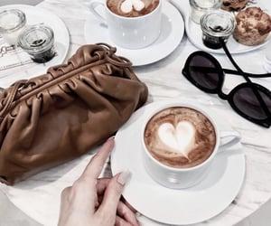 bag, coffee, and drinks image