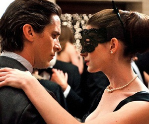 batman, Anne Hathaway, and christian bale image