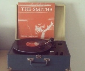 the smiths, music, and vintage image